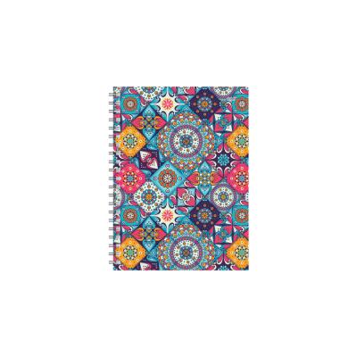 Dateerimata kalendermärkmik 145x190mm, täpp, Portugal,  spiraalköide,Timer