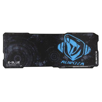 Hiirepadi e-blue Auroza XL, must/sinine, 80 x 30 cm
