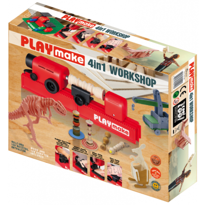 Tööpingikomplekt PLAYMake 4in1