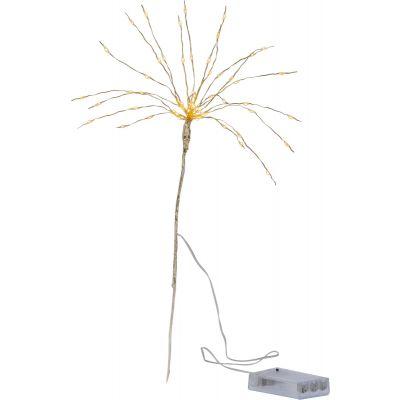 Dekoratsioon ILUTULESTIK, L-25xK-45cm,60 soe valget LED tuld, taimer, patareitoide 3xAA ( ei kuulu komplekti), IP20, sisetingimustesse