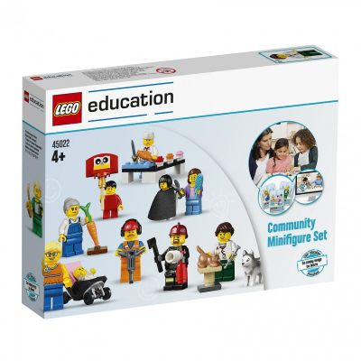 LEGO Education ametid, minifiguurid, 256 osa, 4+