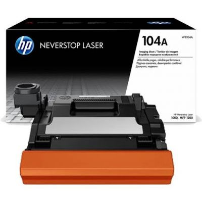 Trummel HP W1104A Black Imaging Drum Cartridge must 20000lk Neverstop Laser 1000a/1000w, MFP 1200a/1200w