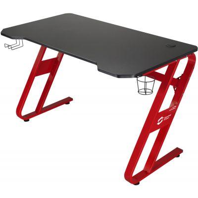 Arvutilaud Speedlink mängurilaud Scarit, must MDF/punased jalad