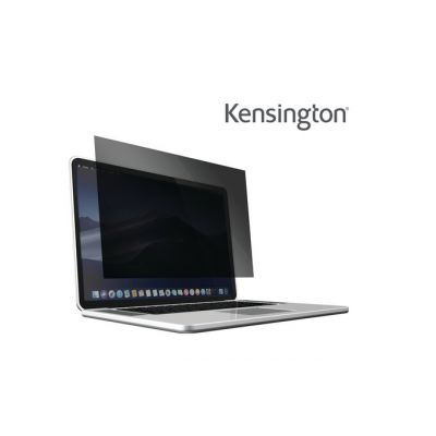 "Ekraanifilter Kensington PF13 kleebitav 299x195mm Wide Screen, must andmekaitsefilter/privaatfilter 13"" MacBook Pro Retina 2017 matt/läikiv"