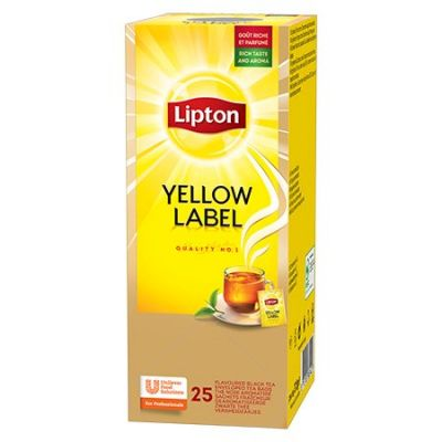 Mus tee Lipton Yellow Label  1,8g*25tk/pk (fooliumümbrik)