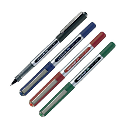 Tindipliiats Uni UB-150EYE  0,5mm, 4 värvi, 4tk ühe tk hinnaga, mess2020