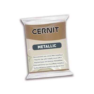 Polümeersavi Cernit Metallic 56g 059 antique bronze