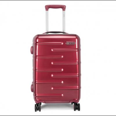 Kohver Carlton Knox 55x37x23cm 3,3kg plastik punane 4-rattaga, eriti tugev
