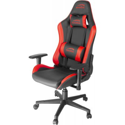 Arvutitool Speedlink Xandor Gaming Chair, must/punane, opt pikkusele 170cm-190cm, max 150kg, kunstnahk
