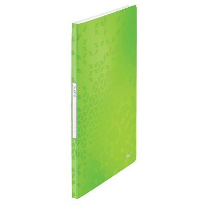 Menüükaaned A4 20-taskut roheline Leitz WOW PP