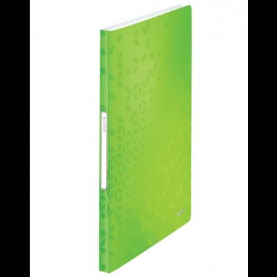 Menüükaaned A4 40-taskut roheline Leitz WOW PP