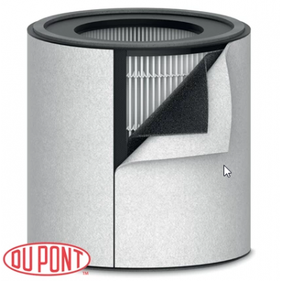 Õhupuhastaja HEPAfilter Leitz TruSense Z-3000, komplekt sisaldab pestavat filtrit - filtrivahetus 12-15 kuu tagant