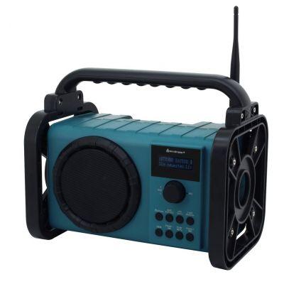 Raadio Soundmaster DAB80, FM, DAB+, RDS, Bluetooth 5.0, IP44 pritsmetekindel