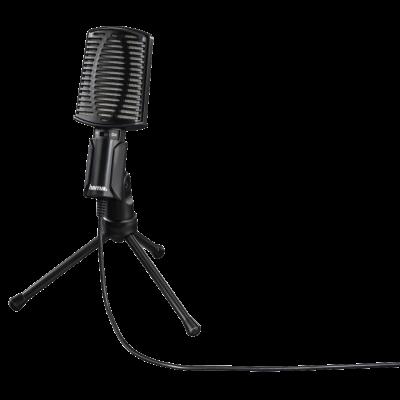 Mikrofon Hama MIC-USB Allround USB-kaabel 2m, tugijalg lauale