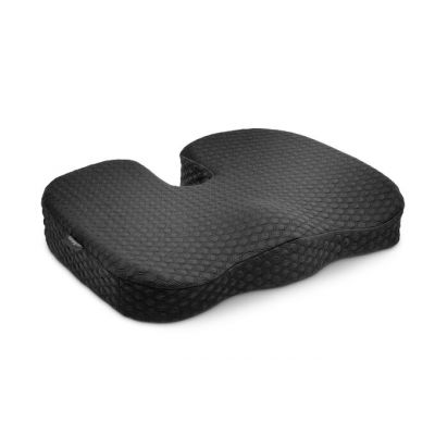 Ergonoomiline istepadi Kensington Cool-Gel Seat Cushion Premium, libisemiskindel U-kujuline geelpadjas vorm, pestav pealiskate, kanderihm