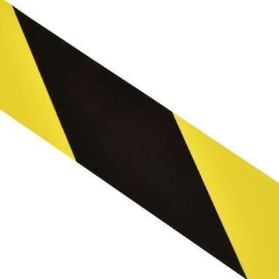 Ohuteip kollane-must kaldjoon 50mmx33m
