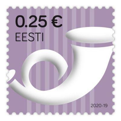 Postmark nominaal 0,25 eur