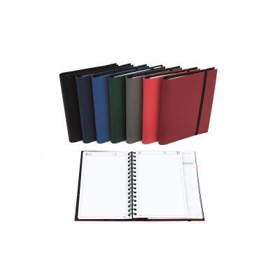 Õpetaja päevaraamat Maxi Flex Duo(täpp) 170x225mm, spiraalköide, kunstnahast kaaned, kummistkinnituspael