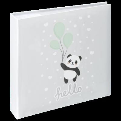 Fotoalbum 200 pilti Hama `Hello Panda` Memo Album, 10x15, pastelne, CD-tasku, 22,5 x 22 x 5 cm
