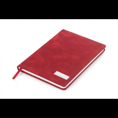 Märkmik MARMO kivipaberiga A5, 98lehte valge, punane