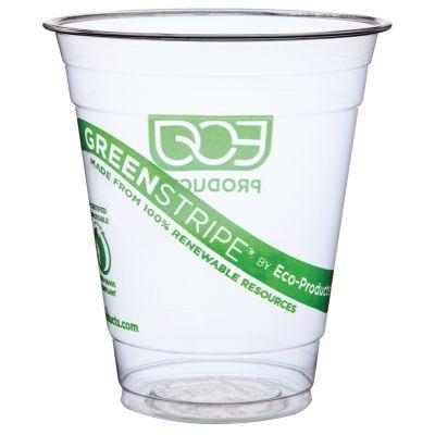 Joogitopsid GreenStripe 250ml, biolagunevad ja  komposteeritavad, 50tk/pk