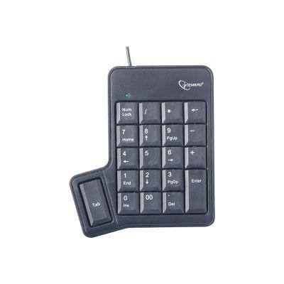 Numbriklaviatuur Gembird USB numpad with TAB key, numeric keypad