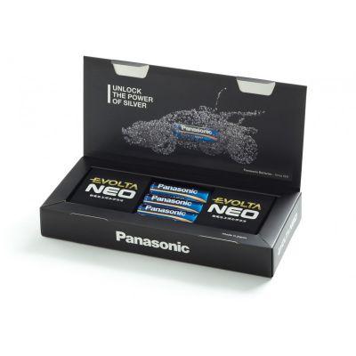 Patareid Panasonic Evolta Neo patarei LR6 AA 4 patareid, ülisuure voolutarbega seadmesse