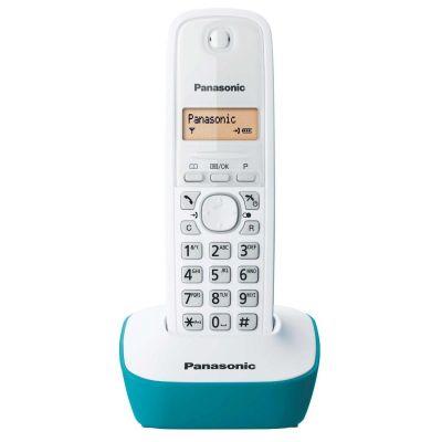 Telefon Panasonic KX-TG1611FXC valge/sinine põhi - DECT, numbrinäit, EST menüü juhtmevaba