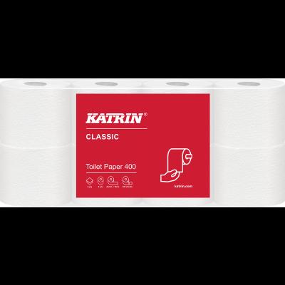 Tualettpaber Katrin Classic Toilet 400 2-kihiline 8 rulli/pk