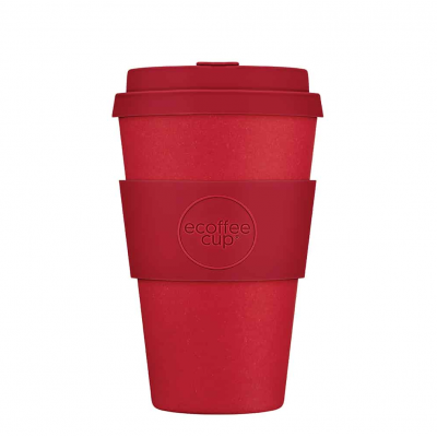 Kohvitops ECOFFEE CUP 400ml Red Dawn