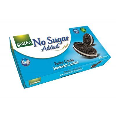 Suhkruvabad täidisega kakaoküpsised 210g,(5x42g) GULLON