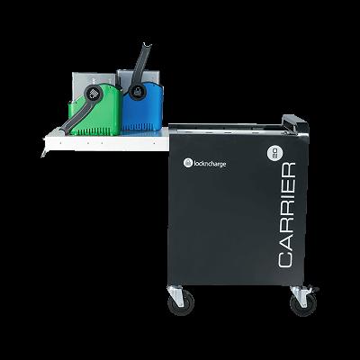 Tahvelarvutite laadimiskäru LocknCharge Carrier 20 Cart MK5 EUR mahutab 20 tahvelarvutit(iPad,Chromebook), charge only, K934mm L707mm S490mm