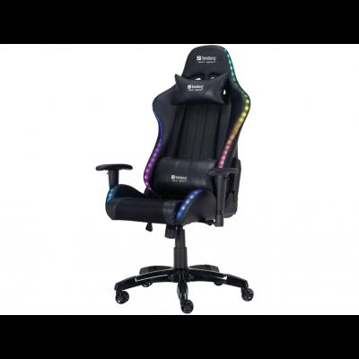Arvutitool Sandberg Commander RGB Gaming Chair Black RGB-LED valgustus USB-toitega, pult
