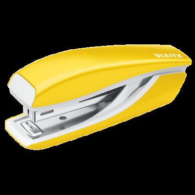 Klammerdaja 10 lehte kollane Leitz WOW mini klamber No10