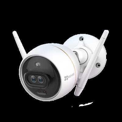 Valvekaamera Hikvision EZVIZ C3X ColorNightVision ja AI, kahe objektiiviga, 106kraadi, väli- ja sisetingimustesse IP67 FullHD 1080p 2MP H265