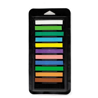 Kuivpastell Lekolar, 6 x 70 mm,12 värvi, maastikutoonid