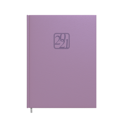 Raamatkalender A4 PRESIDENT lavendel nädala sisu, vertikaalne