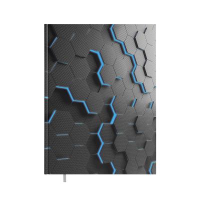 Raamatkalender A4 President Disain Hexagon, vertikaalne nädala sisu, kõvaköide
