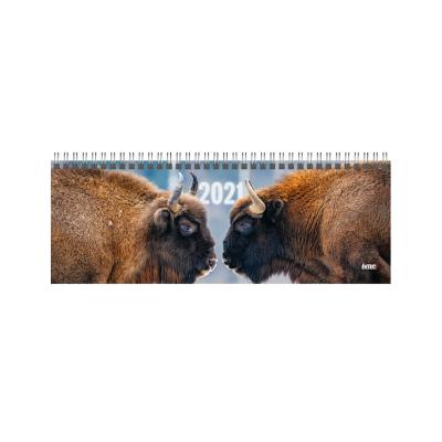 Lauakalender kartong kaanega - Buffalo