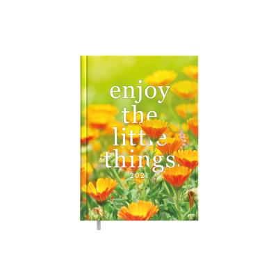 Raamatkalender Minister Disain Enjoy Nädal H  A5, kõvaköide, pildiga kaaned, nädala sisu