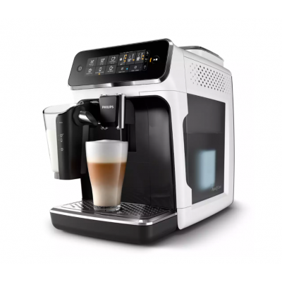 Espresso Philips LatteGo EP3243/50 white, AquaClean filter for LatteGo
