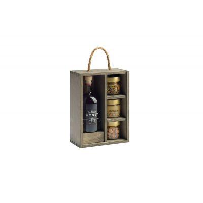 Kinkekomplekt Glögi(alkoholivaba) 0,5L + taimetee 25g + mesi 200g + mee-ja soolapähklid 90g, Artisan Honey
