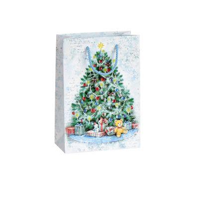 Kinkekott Jõulukuusk, 16x8x23cm