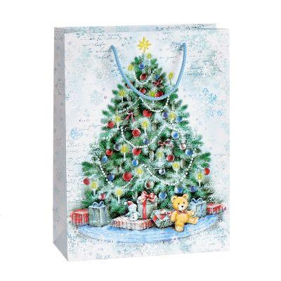Kinkekott Jõulukuusk, 24x10x32cm