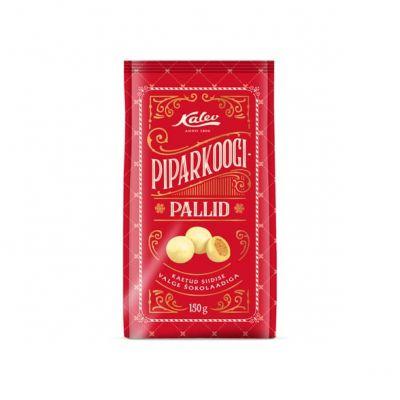 Piparkoogipallid valges shokolaadis 150g, Kalev