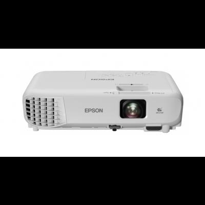 Multimeediaprojektor Epson EB-W06 WXGA 16:10 1280x800 3700ANSI 2,5kg 15000:1 USB HDMI