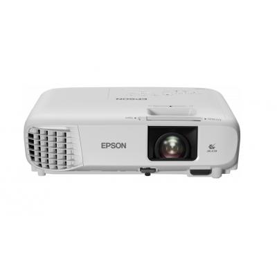Multimeediaprojektor Epson EH-TW740 Full HD 1920x1080p 3300lm 3xLCD 16:9 16000:1 HDMI USB ,kõlar 2W, pult
