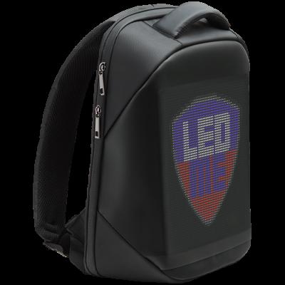 Seljakott Prestigio LEDme, LED-ekraan, must, 22l + 10,000mAh akupank