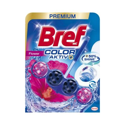 WC värskendaja pallidega BREF Power Activ Blue Fresh Flowers 50g