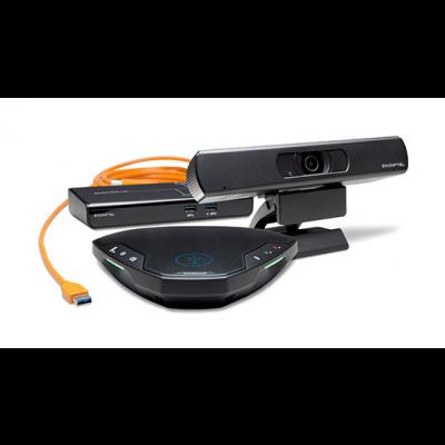 Konverentsikaamera komplekt Konftel C20EGO - 4K Ultra HD/30fps kaamera, lauamikrofon (kuni 6 inimest), OCC hub 5m USB-kaabel
